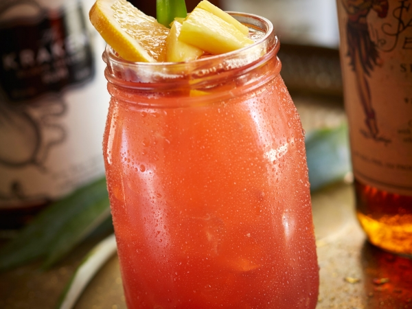 Triple Rum Punch