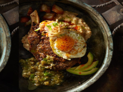 Cowboy Steak & Egg Breakfast