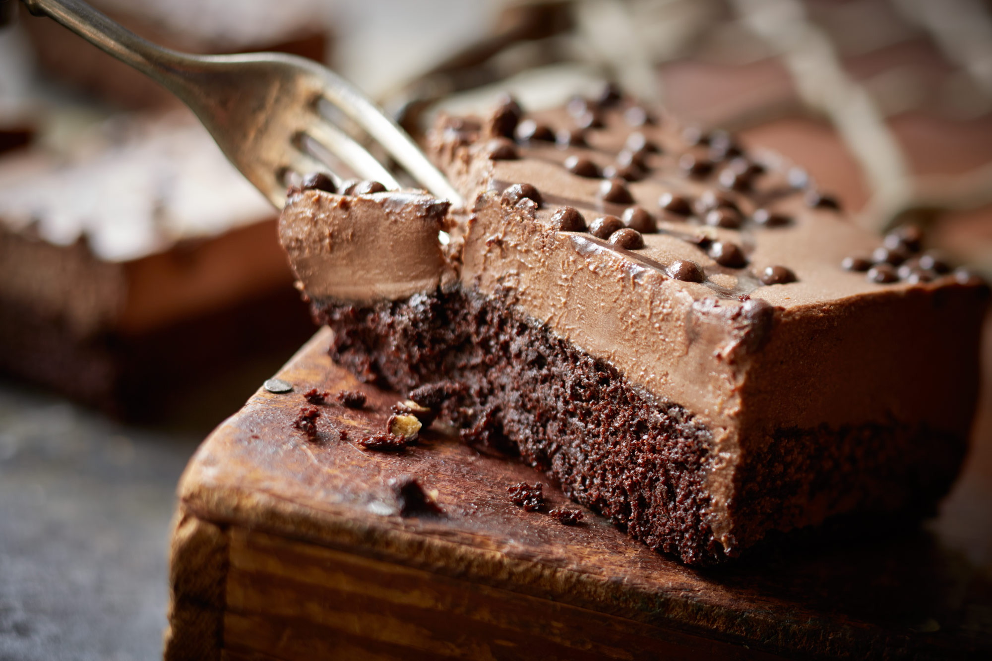 Olive Garden Chocolate Mousse Cake