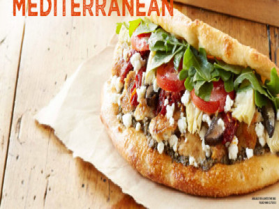 Uncle Maddio's Foldwich Caprese Italian Mediterranean