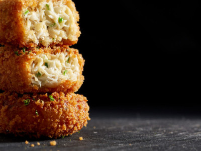 Panko Crusted Crab Cakes