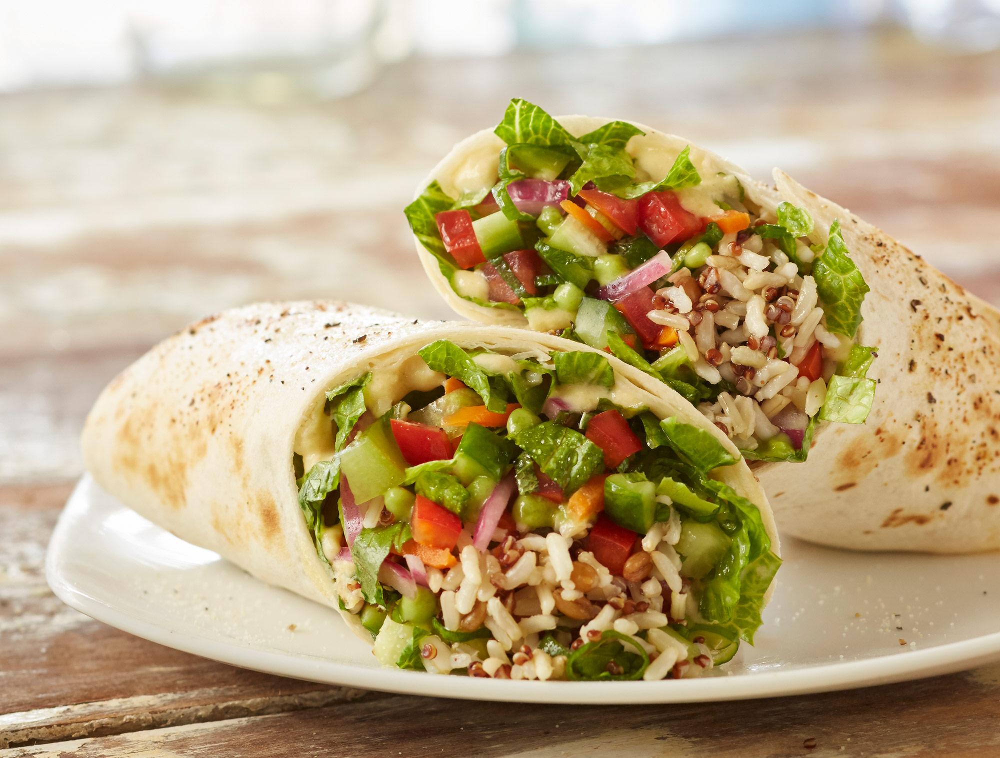 Tropical-Smoothie-Hummis-Veggie-Wrap